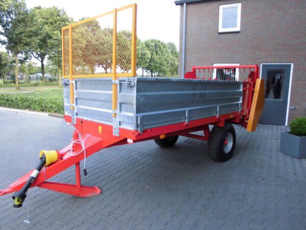 Nieuwe mestverspreider/mestwagen/mestbreker 4,5 ton
