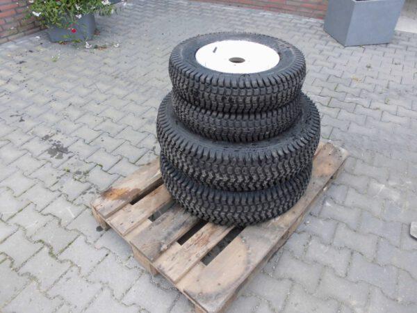 Gazonbandenset voor minitrekker (kubota,iseki)